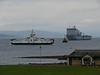 LARGS BAY, LOCH SHIRA and SD ORONSAY off Largs.